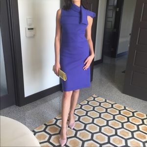 Tory Burch Purple Wool Dress
